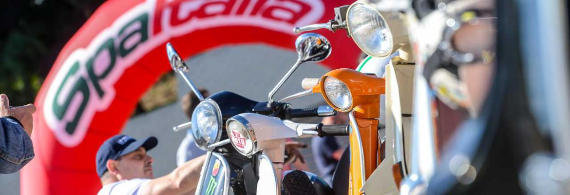 Spa Italia :  AND NOW, A PARADE FOR ALL VESPA RIDERS !