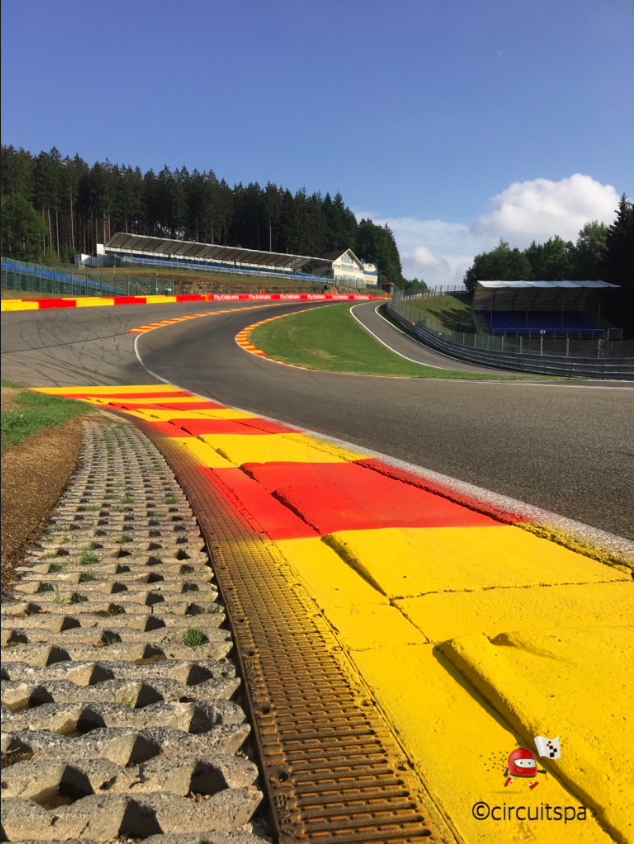 The Corners Of The Spa Francorchamps Circuit Circuit Of Spa
