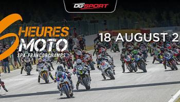 THE MACHINES AND RIDERS OF THE 6 HEURES MOTO WILL COME TO THE HEART OF SPA!