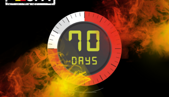 Only 70 days to go!