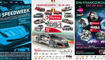 SRO Speedweek et Total 24 Hours of Spa... 10 jours d'action et d'animations !