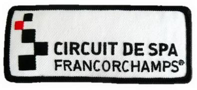 BADGE /  CIRCUIT DE SPA FRANCORCHAMPS.  (11,2 cm X 4,6 cm ) 1