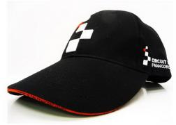 "CAP BLACK ""CIRCUIT DE SPA-FRANCORCHAMPS""LOGO FRONT 3D+LOGO ON BOTH SIDES -1 SIZE FITS ALL 52CM 1"
