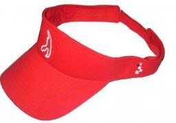 "VISOR RED ""CIRCUIT DE SPA-FRANCORCHAMPS"" LOGO ON BOTH SIDES 1"