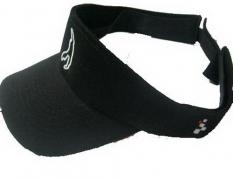 "VISOR BLACK ""CIRCUIT DE SPA-FRANCORCHAMPS"" LOGO ON BOTH SIDES 1"
